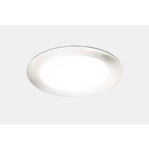 Foco led gris / plata de 10.5w