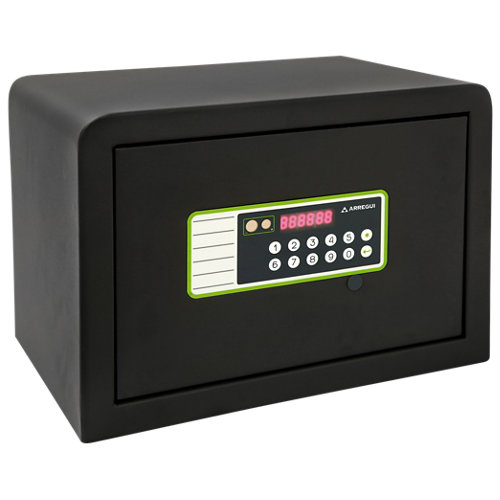 Caja fuerte de sobreponer y atornillar arregui 240220 35x25x25 cm