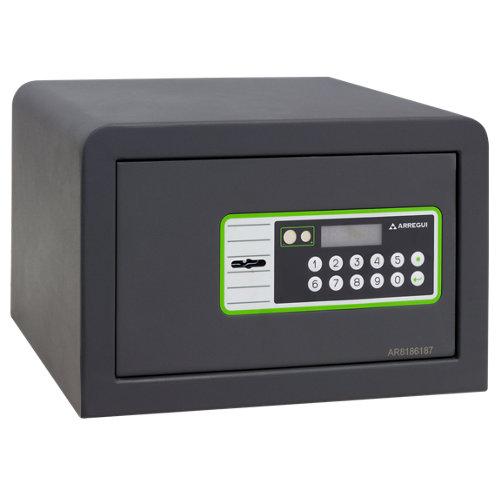 Caja fuerte de sobreponer y atornillar arregui 240010 31x20x20 cm