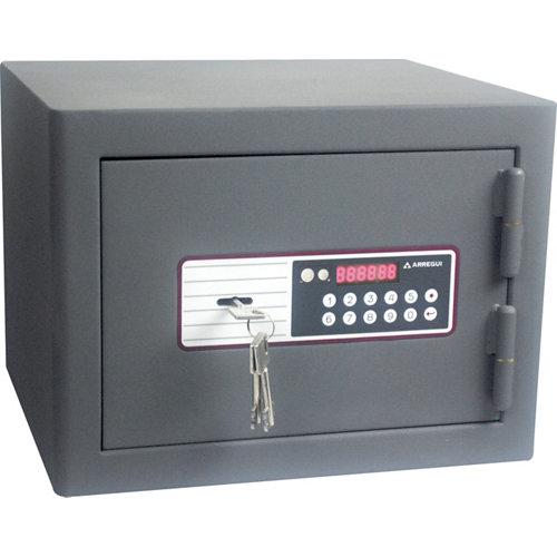 Caja fuerte de sobreponer y atornillar arregui 240040-ig 38x28x34.5 cm