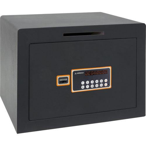 Caja fuerte de sobreponer y atornillar arregui 180050-sl 42x35x36 cm