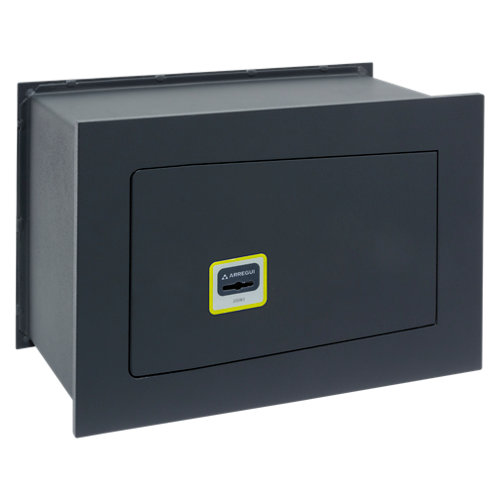Caja fuerte de empotrar en la pared arregui 281320 23x20x20 cm