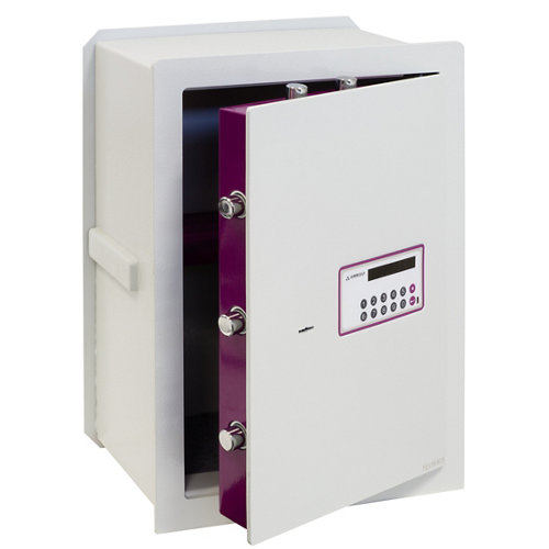 Caja fuerte de empotrar en la pared arregui 151080 38.5x52x20 cm