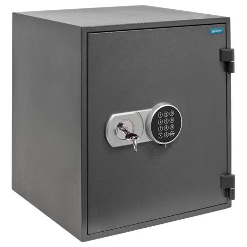 Caja fuerte de sobreponer y atornillar arregui 41240 44.5x51x42.5 cm