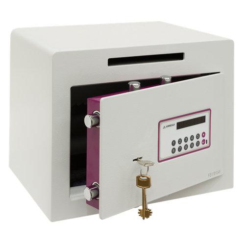 Caja fuerte de sobreponer y atornillar arregui 150040-sl 38.5x30x30 cm