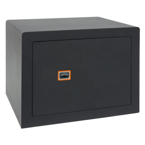 Caja fuerte de sobreponer y atornillar arregui 180340 38.5x27x30 cm