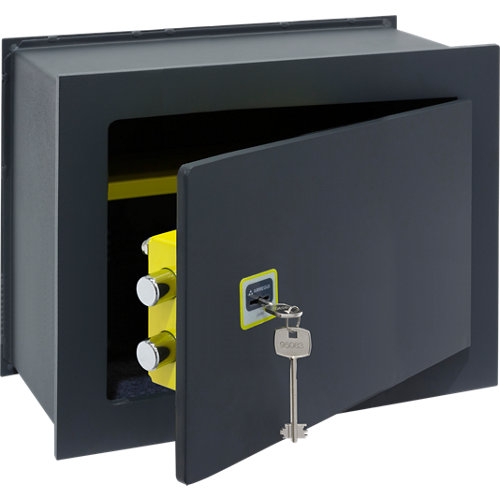 Caja fuerte de empotrar en la pared arregui 281350 41x30x20 cm