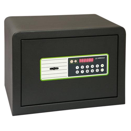 Caja fuerte de sobreponer y atornillar arregui 240020 35x25x25 cm
