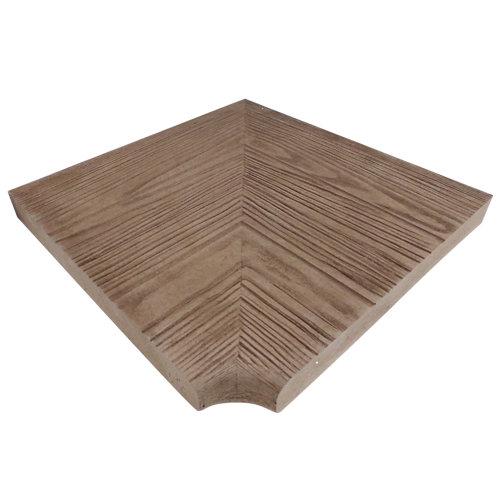 Angulo recto canadá 45x50x5 cm oregon