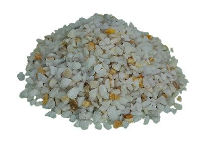 Saco de piedra calcárea triturada Blanco 1000KG 6 y 9 mm