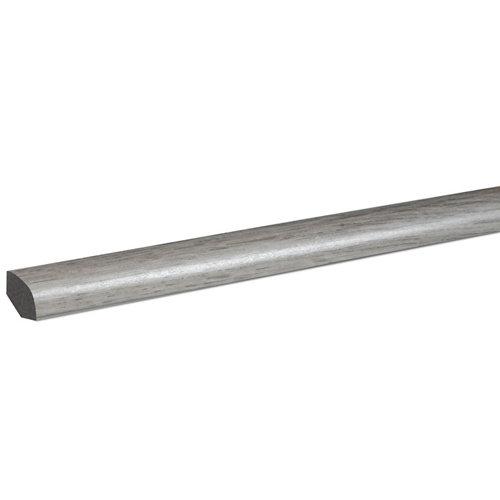 Junquillo pvc fn profile 240 cm gris mod010
