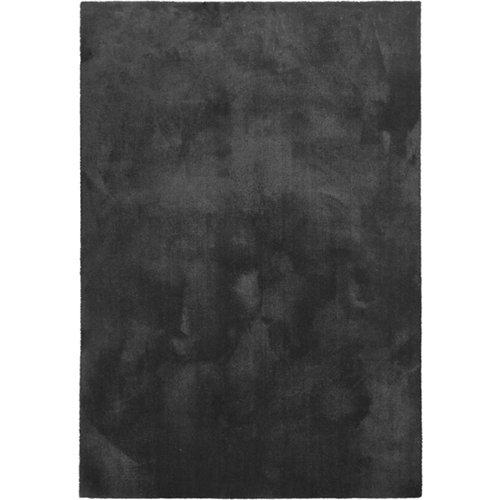 Alfombra negra poliamida touch 100 pr 150 x 80cm