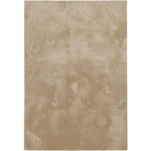 Alfombra beige poliamida touch 050 beige 140 x 200cm