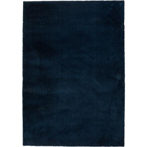Alfombra azul poliamida touch 090 115 x 110cm