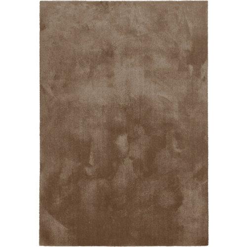 Alfombra marrón poliamida touch 080 140 x 200cm
