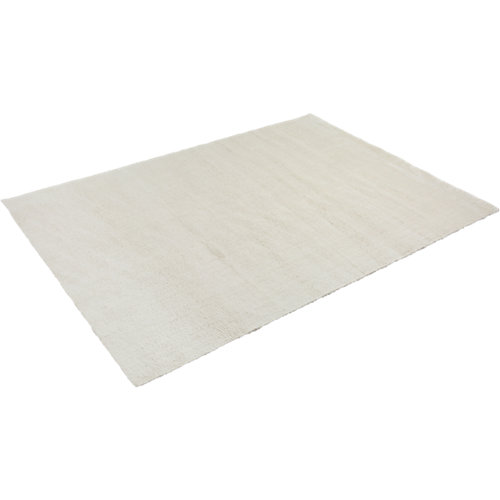 Alfombra poliamida blanco 160 cm x 230 cm