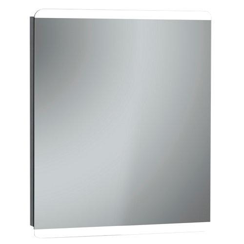 Espejo de baño con luz led gredos 80 x 70 cm