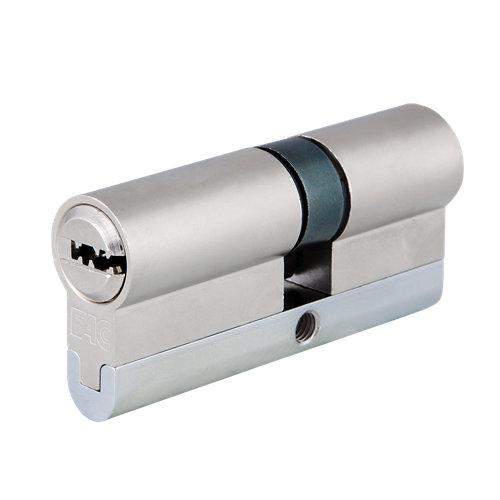 Cilindro perfil europeo (pera) fac 23254 cromado de 30 + 40 mm