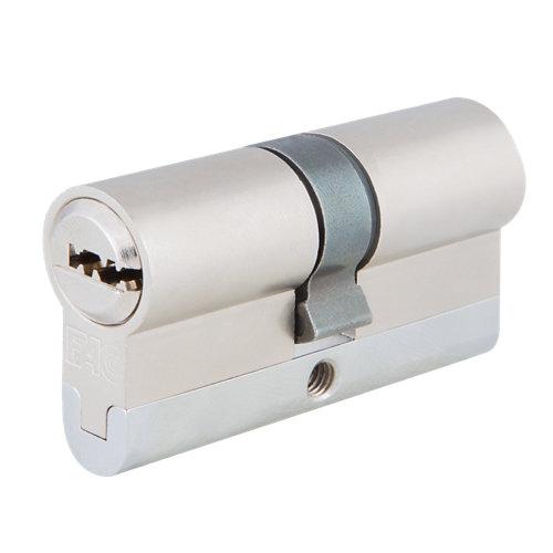 Cilindro perfil europeo (pera) fac 23255 cromado de 35 + 35 mm