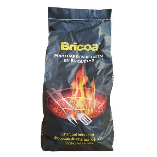 Saco de briquetas de carbón caryse 3 kg