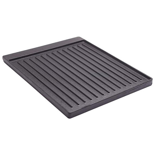 Plancha para barbacoa de hierro fundido 44x2x44.2 cm