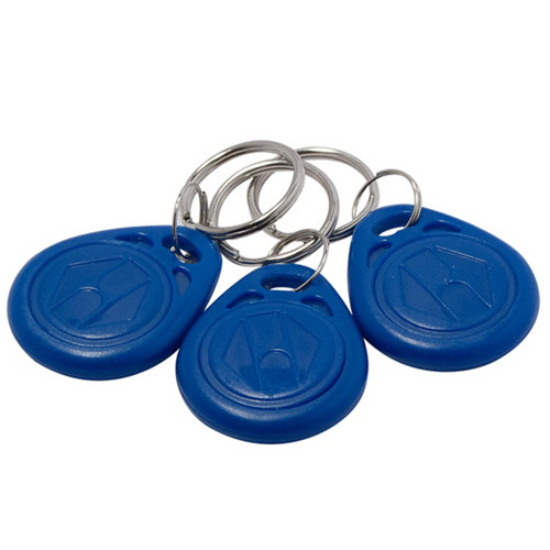 Pack de 3 llaveros nfc para videoportero evology
