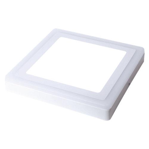Foco downlight led superficie cuadrado blanco 24w 1700lm