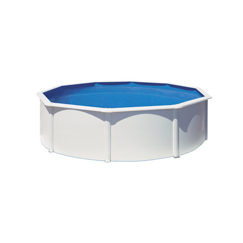 Piscina desmontable redonda gre ø 350x132 cm liso blanco