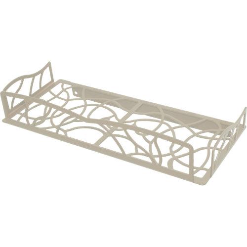 Bandeja ducha cesto para interior de ducha blanco 31x5.5x13.5 cm