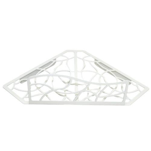 Rinconera ducha cesto para interior de ducha blanco 31x10.5x19 cm