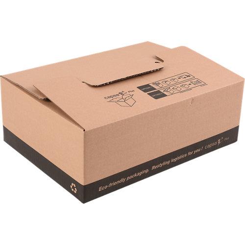 Caja de mudanza de 22 l de 15x31x43 cm y carga máx. 30 kg