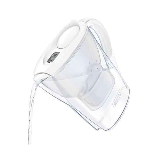 Jarra de agua brita marella blanca+ 2 filtros