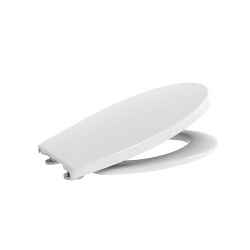 Tapa wc amortiguada roca mitos blanco