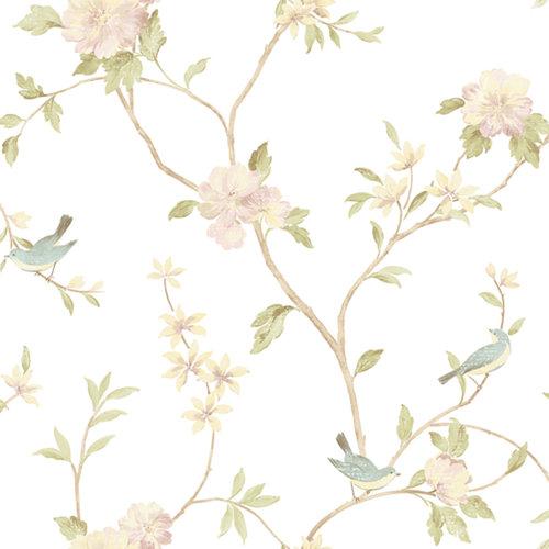 Papel pintado rose garden para 5,3 m²