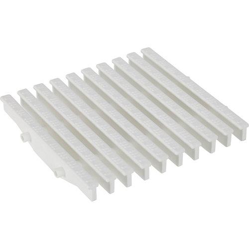 Set de 10 rejillas rectas para rebosadero 22x195 mm