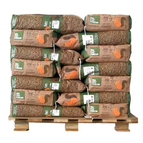 Palet de 35 sacos de pellet naturpellet