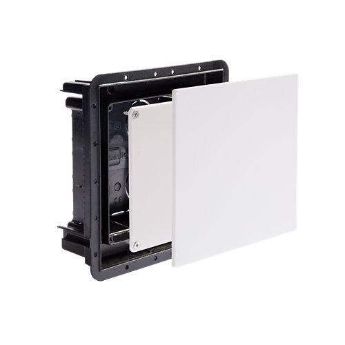 Caja de registro imanbox 100x100 mm con tapa imantada