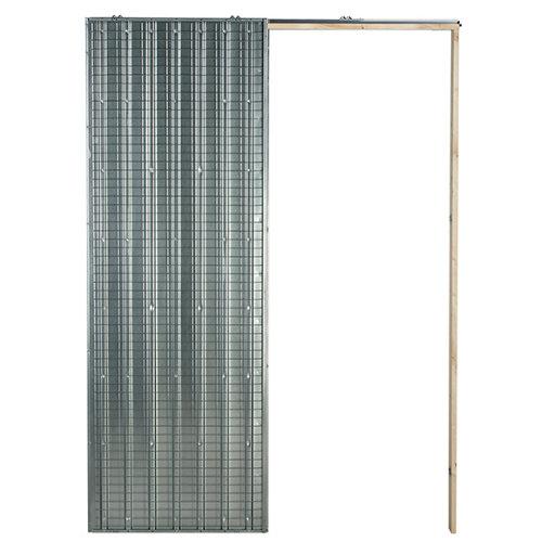 Guía encastrable ladrillo 4 x 203 cm