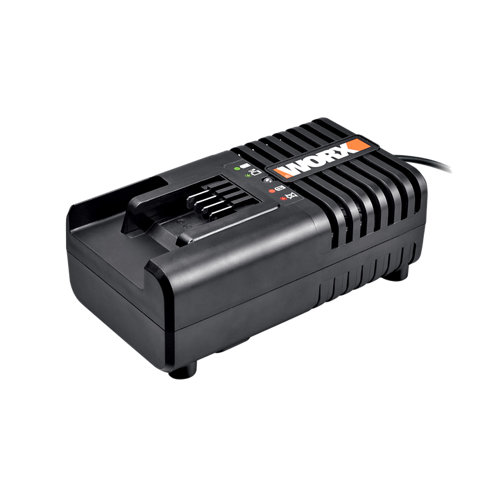 Cargador para batería worx v con indicador de carga y carga rápida