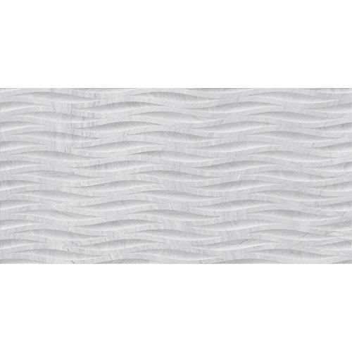 Revestimiento varana 45x90 decorado gris