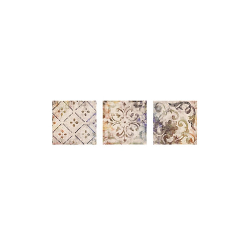 Azulejo de decoración irina de arcilla beige