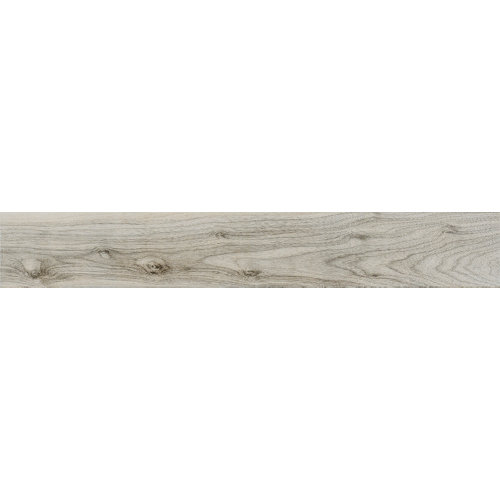 Baldosa porcelánica de 15x90 cm en color gris