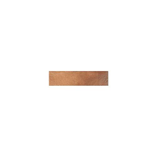 Rodapié recto marrón 33 cm de largo