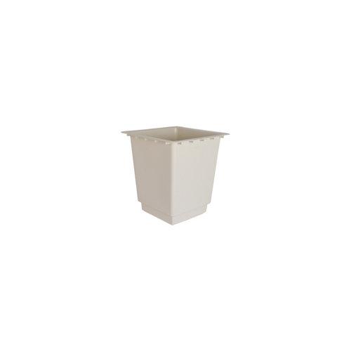 Maceta de polipropileno artevasi blanco 33x35 cm