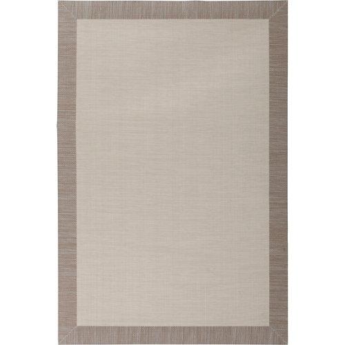 Alfombra beige pvc beauty 70 x 120cm