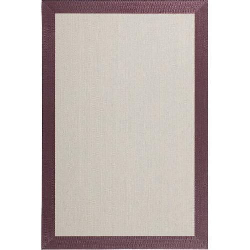 Alfombra violeta pvc fresh 70 x 120cm
