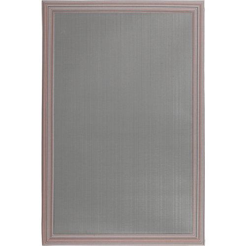Alfombra gris pvc beauty 100 x 150cm