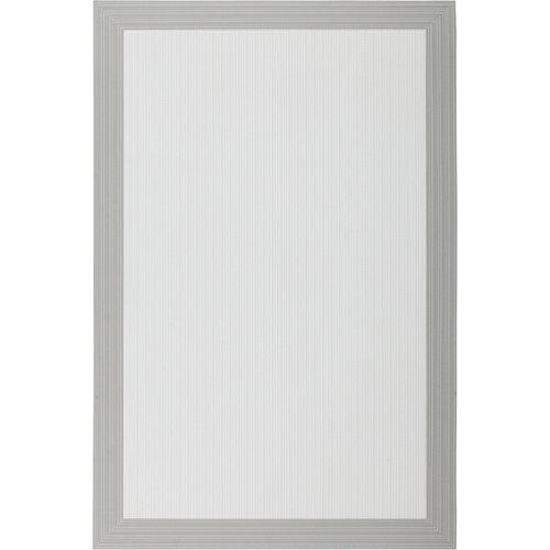 Alfombra blanca pvc 120 x 180cm