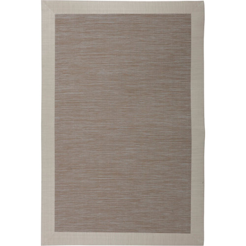 Alfombra beige pvc beauty 160 x 230cm