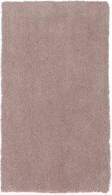 Alfombra color marrón poliéster Shanghai Liso 80 x 150cm